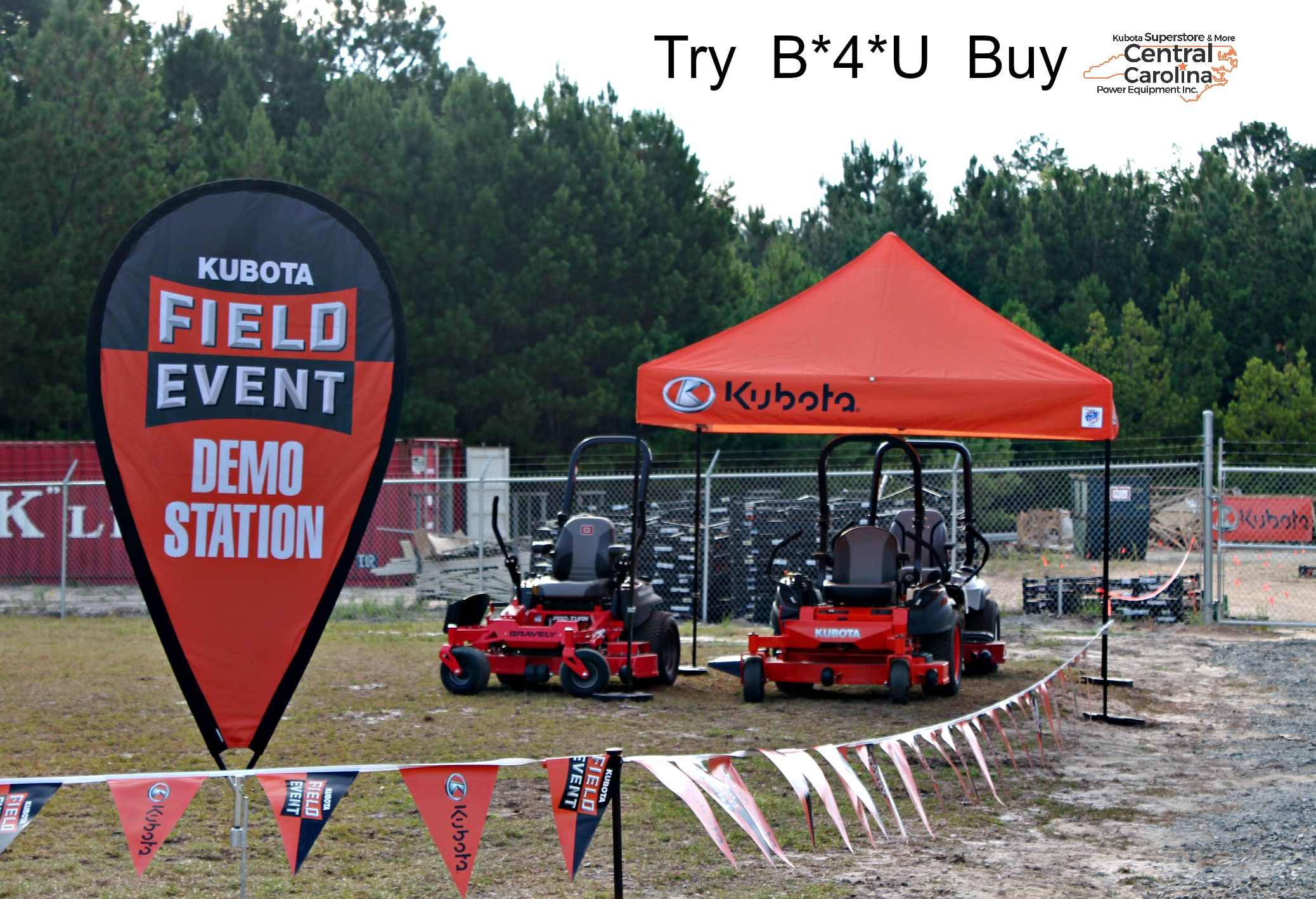 Kubota Central Carolina Power Equipment Located In Sanford Nc Wiring Diagram B26 Tlb Grand Opening Update